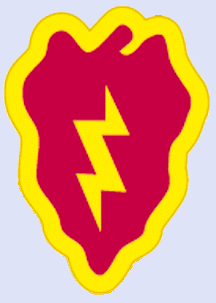 25th Division Patch