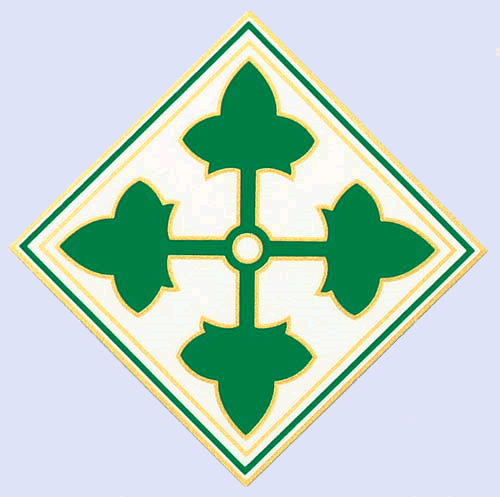 Fourth Infantry Patch